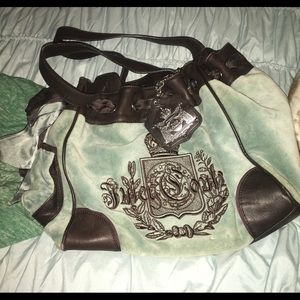 Blue and brown juicy couture daydreamer bag